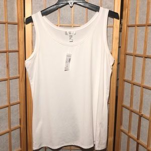Dressbarn Tank Top XL NWT